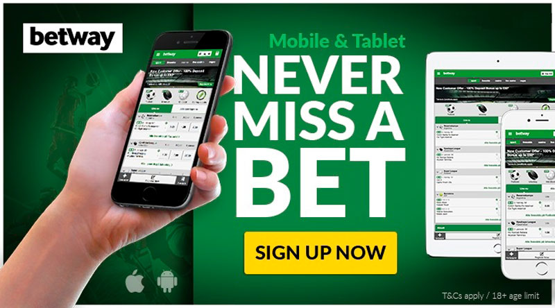 Betway Mobile App sign-up
