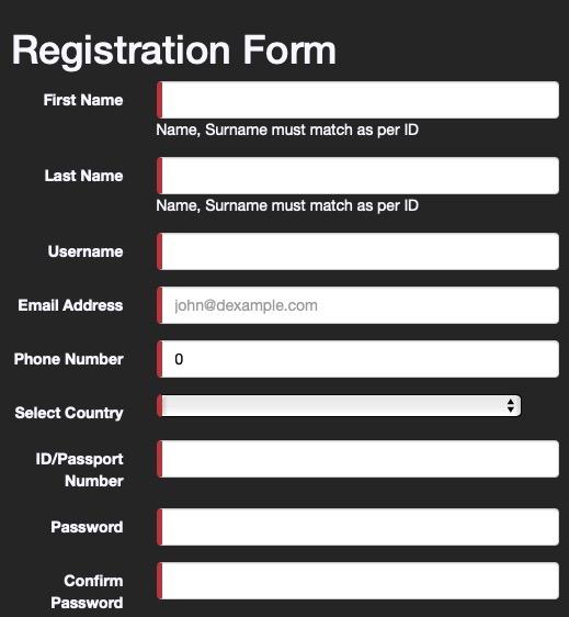 SupaBets mobile Nigeria sign-up
