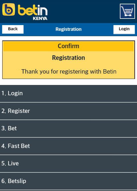 register Betin online