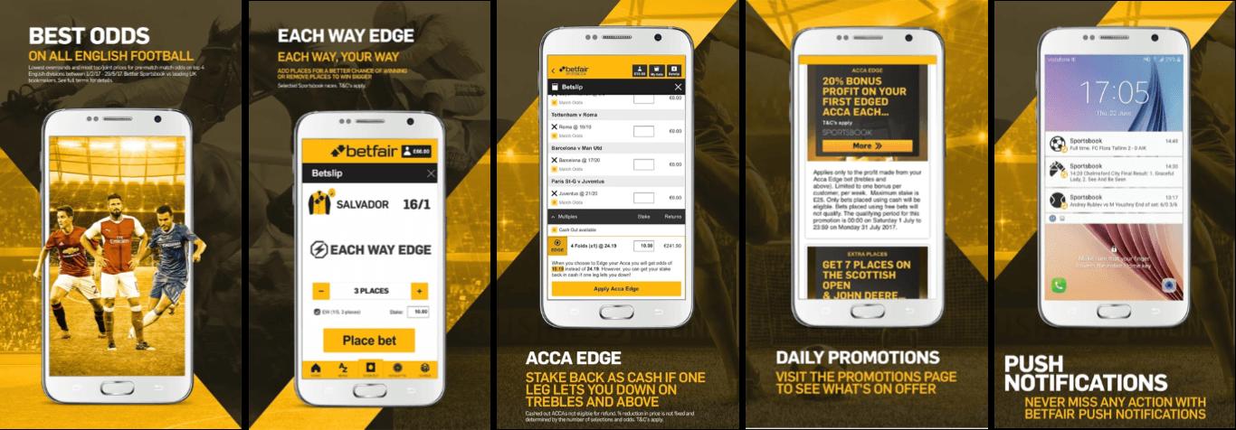 Betfair mobile app Nigeria