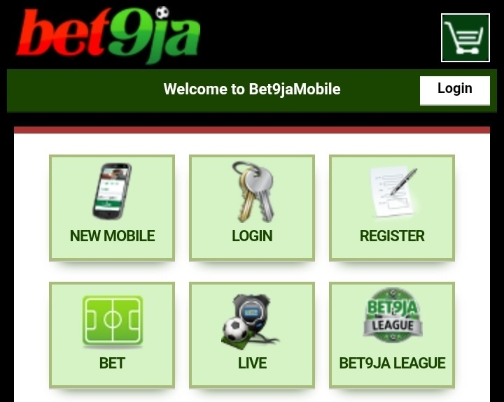 bet9ja login mobile