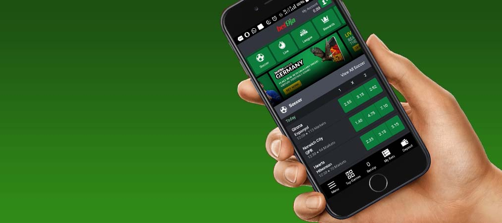 Bet9ja App mobile