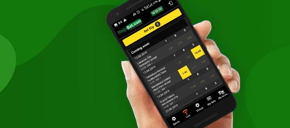 NaijaBet app
